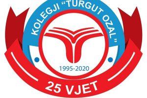 Kolegji Turgut Ozal 25 vite