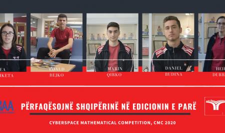 Përfaqësojnë Shqipërinë në Edicionin e parë të Cyberspace Mathematical Competition