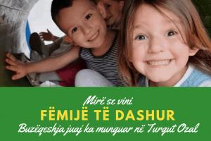 Mire se vini te dashur femije Turgut Ozal Education